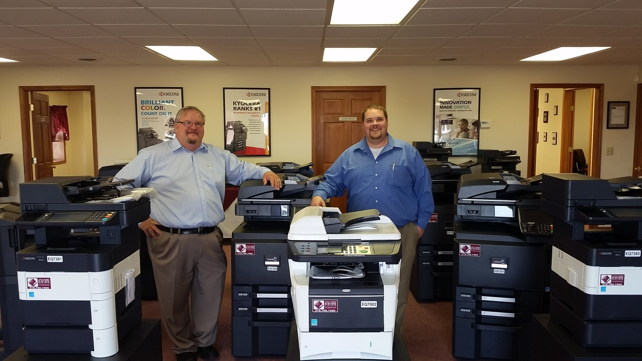 Ed and Ryan Jones, Advanced Business Systems, Watertown/Syracuse NY