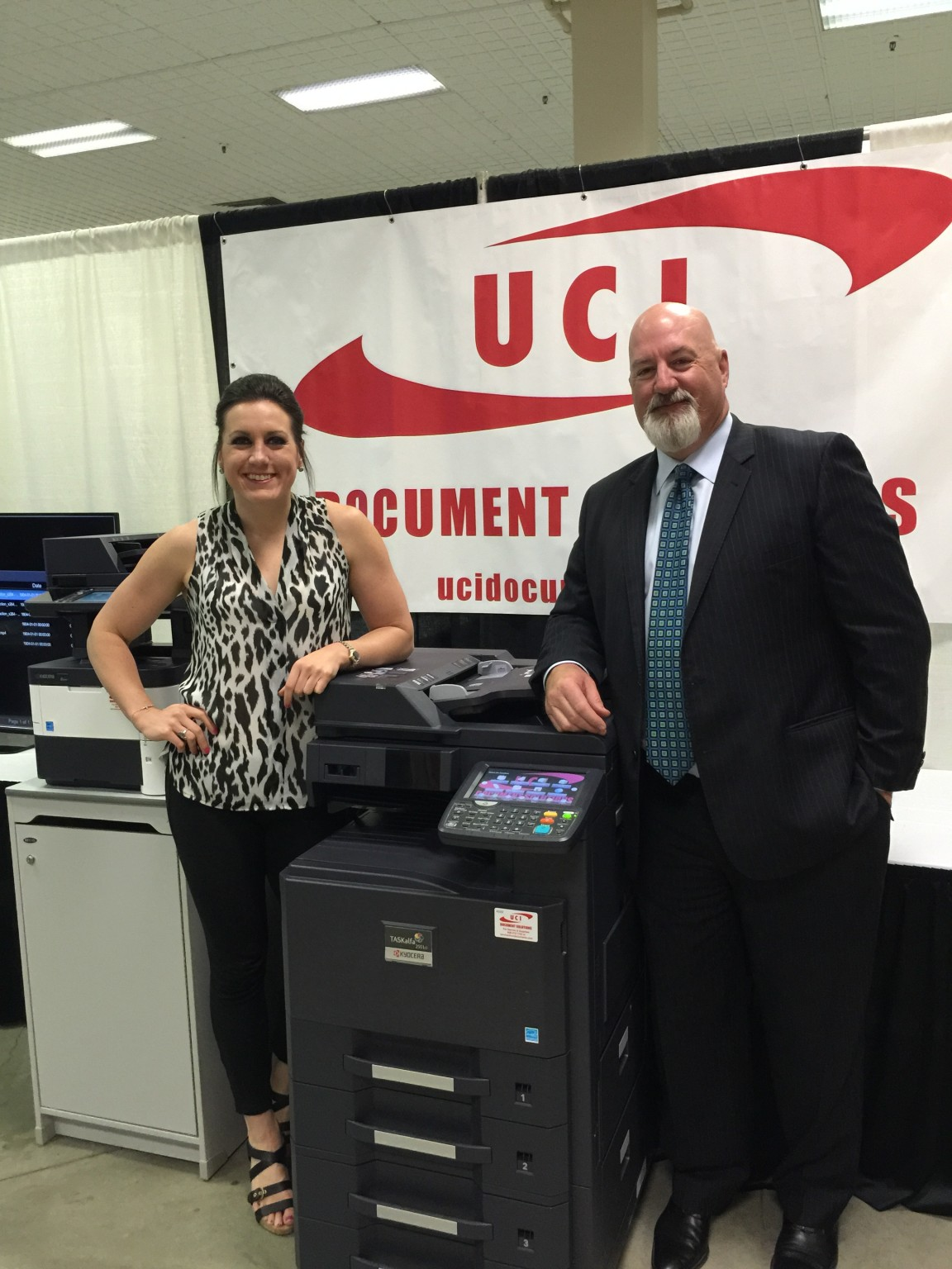 Savannah and Don Carver, UCI Document Solutions, Amarillo, Texas