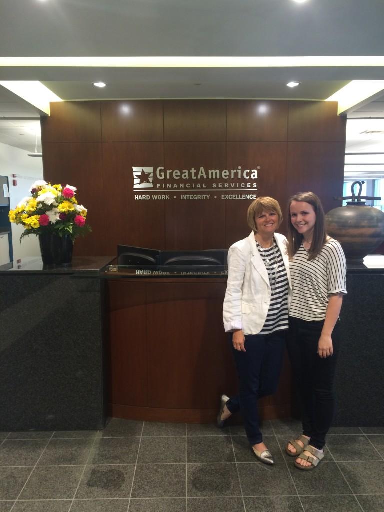 Kim and Meghan from GreatAmerica
