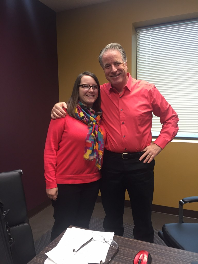 Paul Archer and his Daughter Kristie Jackson from Automated Business Products in Centennial, CO