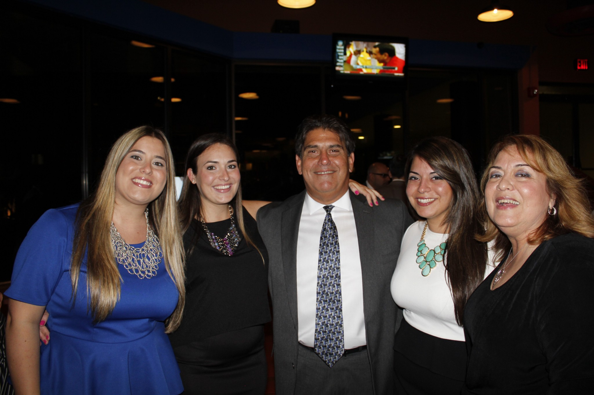 The Lopez family of Barlop Business in Miami, FL. Jose, Madelyn, Monica, Mallory and Michelle.
