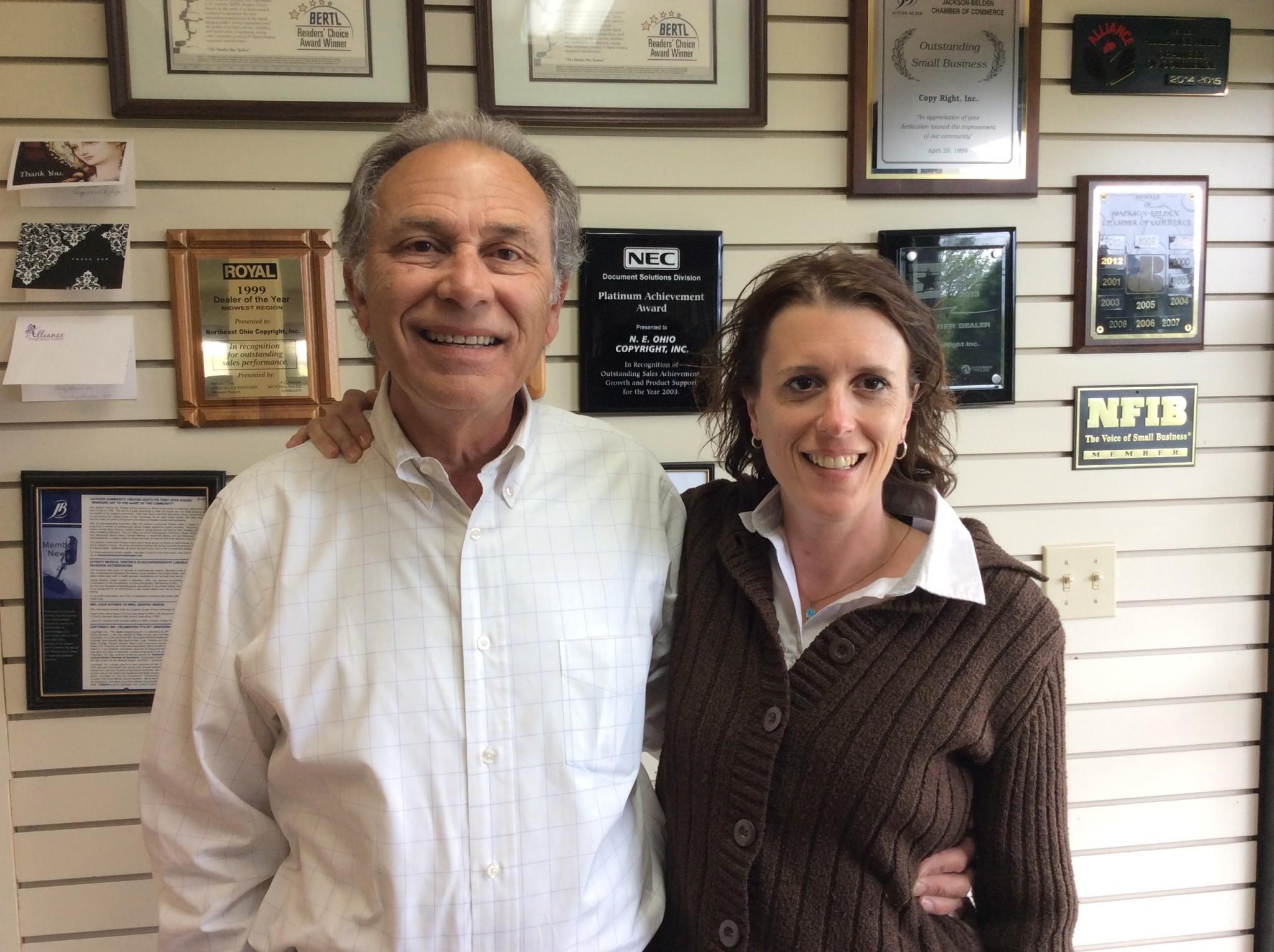 Randy and Olivia Muntean, CopyRight, Canton Ohio