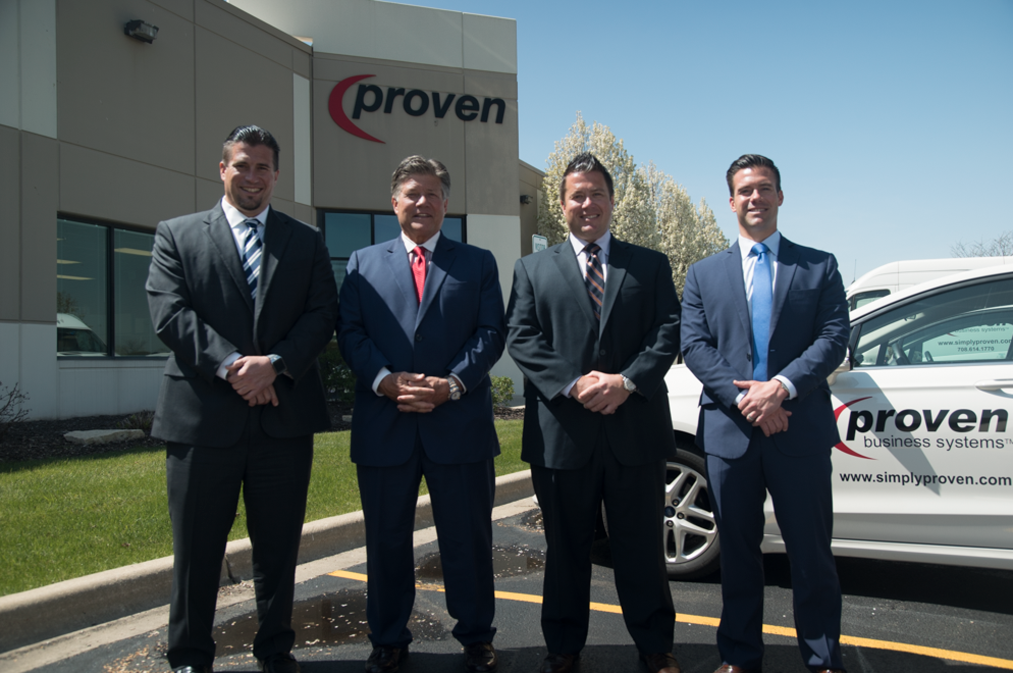 Brett, John , Johnny Cosich, Tory Cosich of Proven Business Systems, Chicago