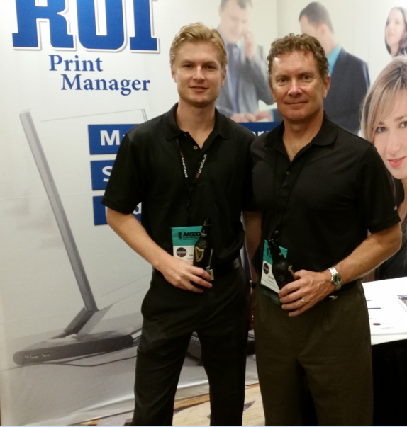 Jake & Shane Hannon from Print Control Software, Inc. in Scottsdale AZ