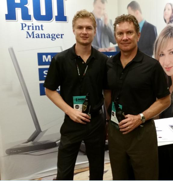 Jake & Shane Hannon from Print Control Software, Inc. in Scottsdale AZ
