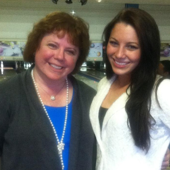 Juliana (my boss from my first copier sales job!) and her daughter JC McKee from Meridian