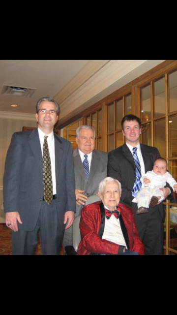 5 generations of the Berry family from Memphis Communications Corp. Guess which one is the sales manager!