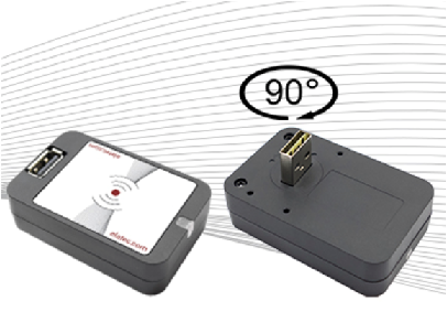 360 Degree Mountable Front Reader, from Elatec | Industry