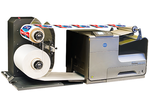 The Muratec PLS-175i can Print on Paper, Polyester