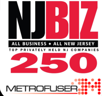 Image result for Metrofuser Named Top 250 Privately Held Businesses in New Jersey.